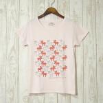 mjuk★Reindeer★トナカイ/ライトピンクTシャツのご紹介です!