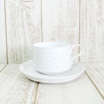 Kronjyden★カップ&ソーサー/Cordial/ホワイトのご紹介です!