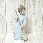 Lladro(リヤドロ)☆5726☆可愛い天使『雲を払う』